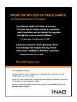 From the Mouths of Cable Giants
