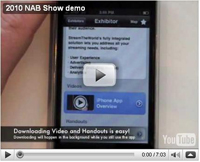 NAB Show organizers today unveiled MyNABShow Mobile.