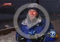 Local broadcasters presented a 6 min. video of Feb. blizzard news coverage.