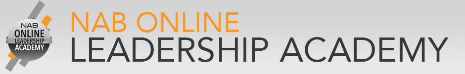 NAB online Leadership Academy:  Summer Webcast Series for Radio