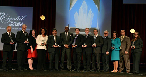 2014 Crystal Radio Award Winners