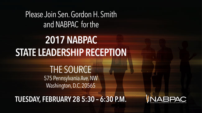 NAB State Leadership Conference NABPAC Reception - Save the Date