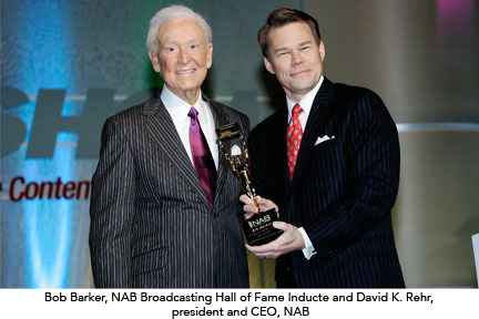 Bob Barker and David K. Rehr