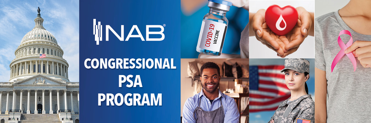 NAB Congressional PSA Program