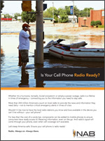 Radio Enabled Cell Phones Ad