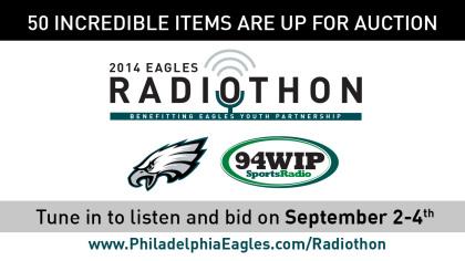 5d4116e3e7b CBS Radio s WIP-FM Philadelphia s 2014 Eagles Radiothon raised a record   290